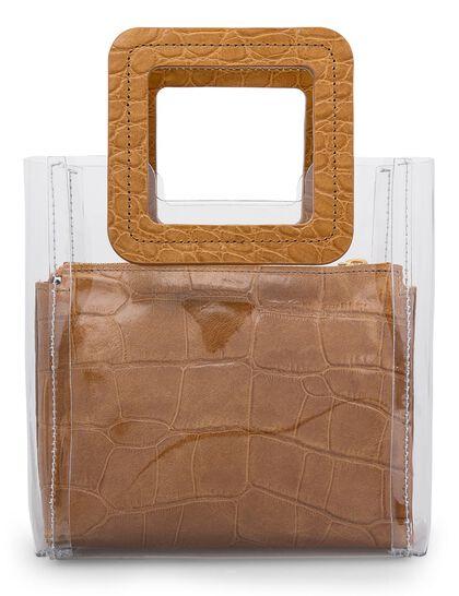 Mini Shirley PVC Tote Bag