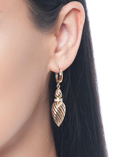 Gfa Merwad Gafla Merwad Gafla Earrings. Rose Gold
