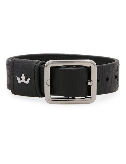 Giorgio Bracelet - Italian Leather Black