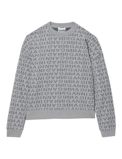 Jacquard Logo Sweatshirt