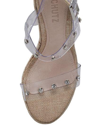 Holly Vinyl & Leather Sandal