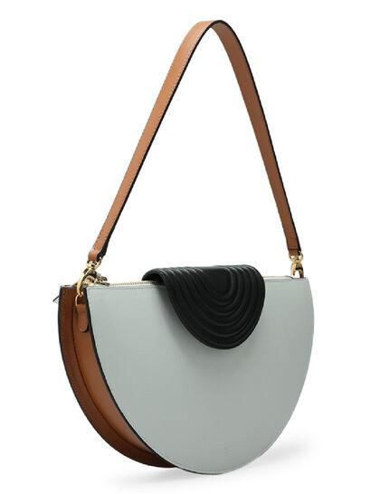 Color-Block Breve Bag