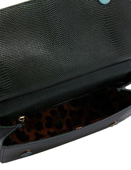 Sicily Medium Iguana Print Bag
