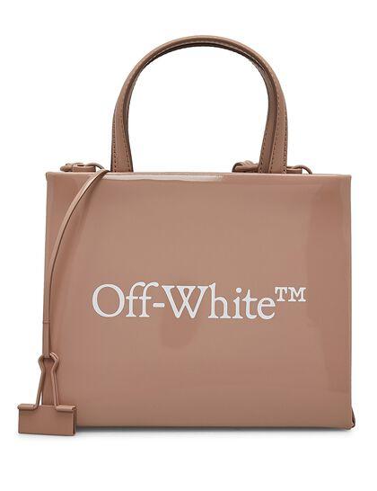 Mini Box Bag Nude White