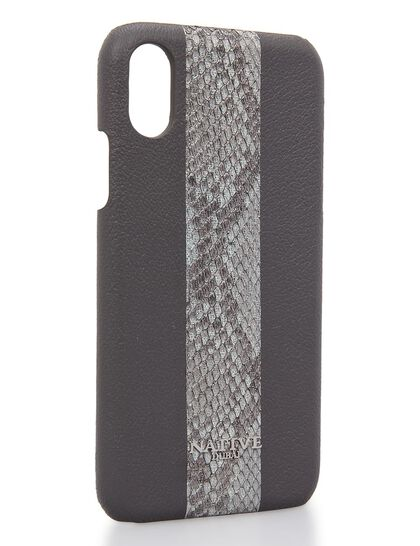 Phone Cover Iphone Xs Case W Python In Black