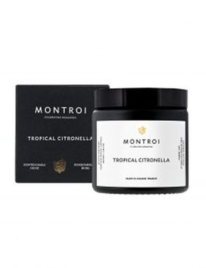Montroi Candle Tropical Citronella 80 G