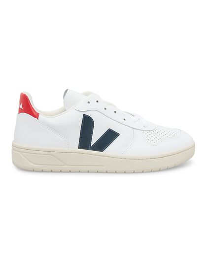 V-10 Leather Extra-White Nautico Pekin