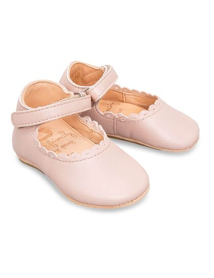 Charlie Leather Ballerina