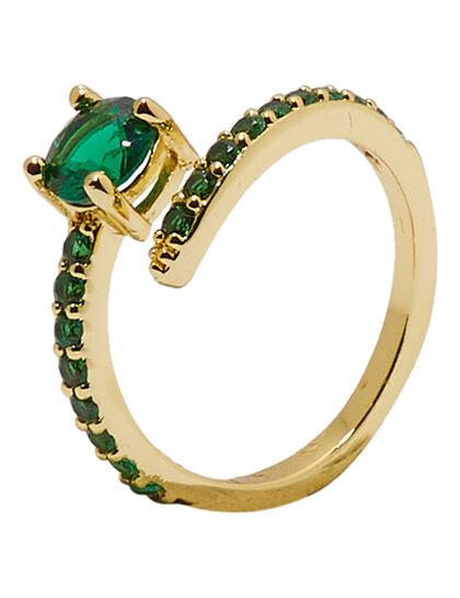 Emerald Stone Ring