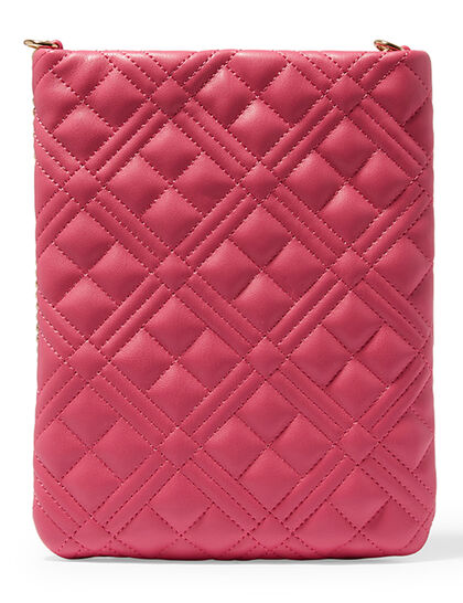Quilted Phone Holder On Chain