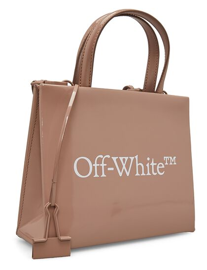 Box-Shape Handbag - Nude