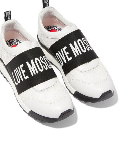 Logo Slip-On Sneakers