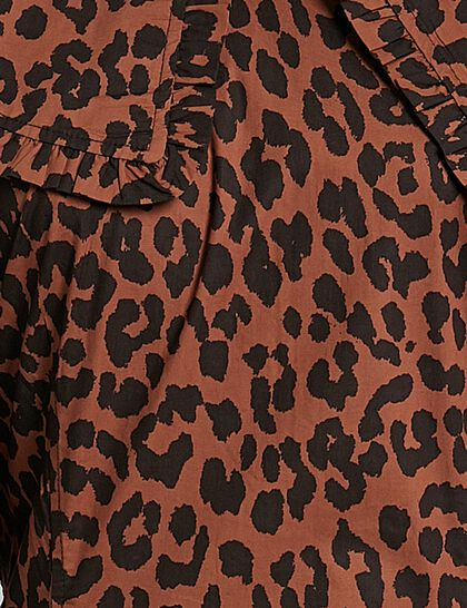 Printed Cotton Poplin Dress
