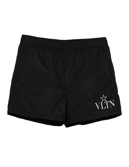 VLTN Logo Swim Shorts
