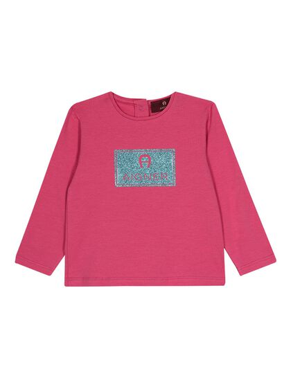 Long Sleeved Shirt-Toddler Girls-Fandango Pink