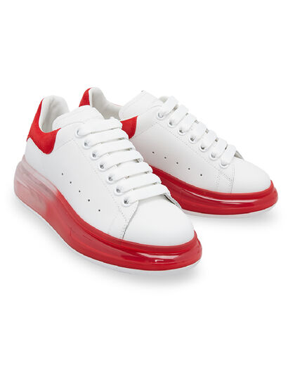 Oversized Degrade Sole Sneakers Leather Upper