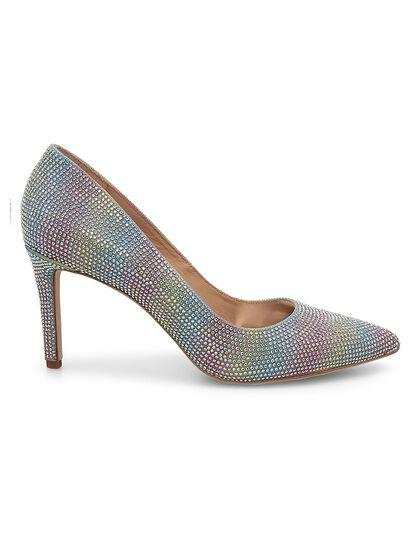 Godiva Rainbow Glitter Pumps