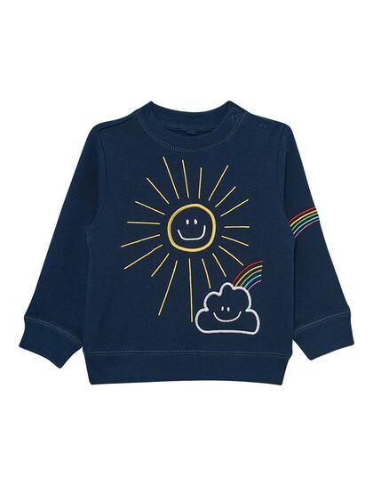 Weather Embroidered Sweatshirt