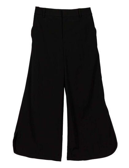 Gabardine Cropped Pant