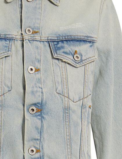 Bleach Long Denim Jacket