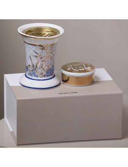 Sis Kunooz Mabkhara & Trinket Box