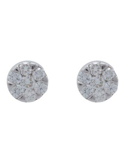 Earring Diamond - Diamond Earring 18K 1.25
