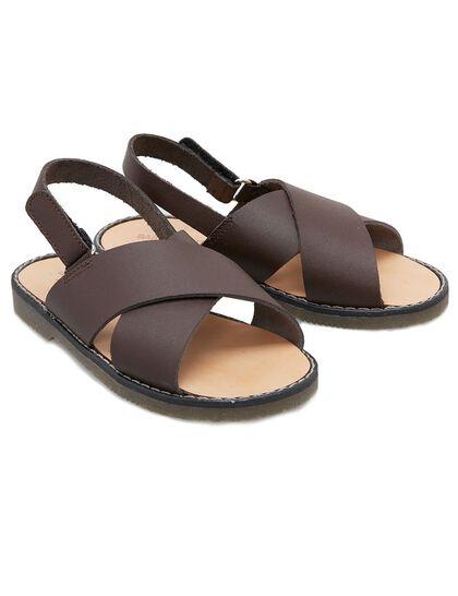 Boy Leather Sandal
