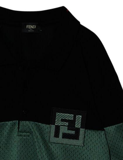 Bi Material Mesh Ff Logo Polo