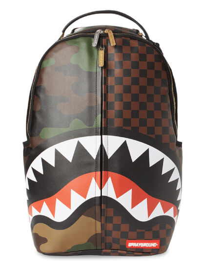 Checks & Camo Flague Backpack