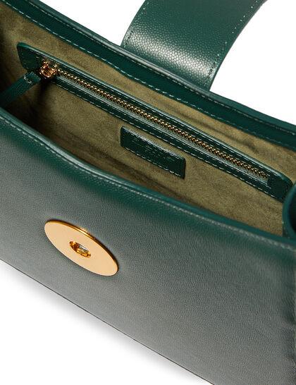 Cat Pebbled Shoulder Bag