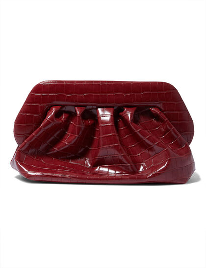 Bios Croc Clutch Bag