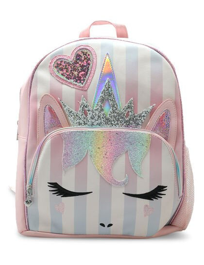 Miss Gwen Striped Large Backpack