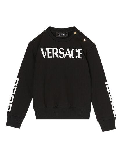 Long Sleeve Logo Detail Sweatshirt