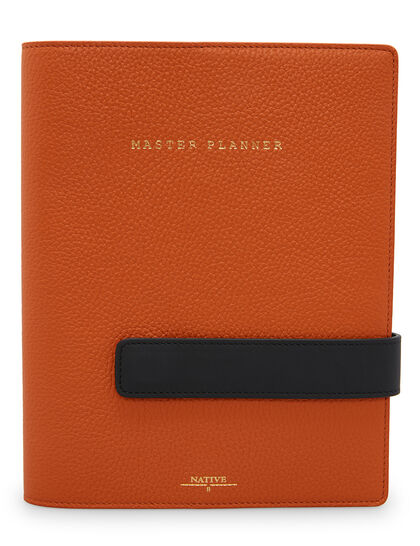 Master Planner In Orange & Cola
