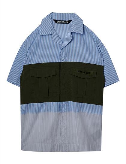 Military Bowling Shirt Military Black