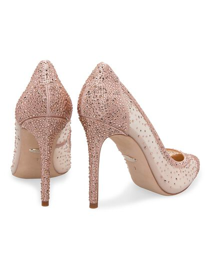 Weslee Embellished Pointed Pumps