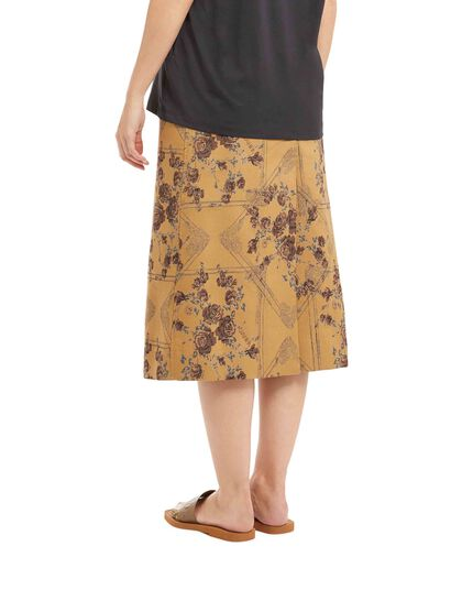 Brocade Jacquard Skirt