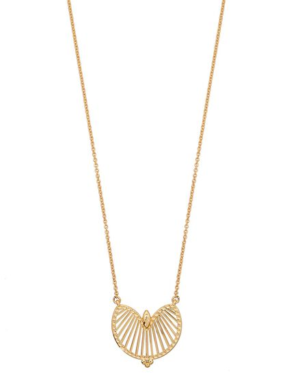 Radiant Motive Pendant Necklace