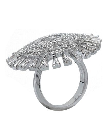 Sjc Sparkling Dc Ring Du Czwh/Cry/Rhs 55 Mm
