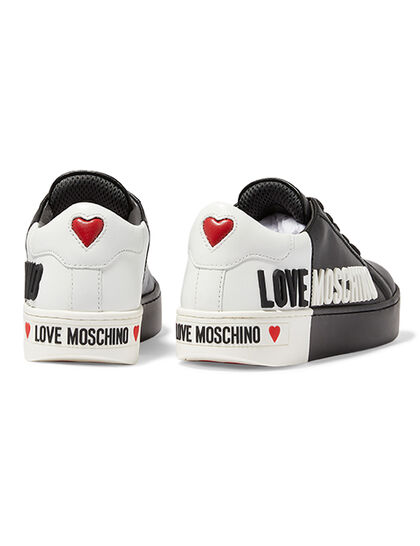 Two-Toned Logo Sneakers
