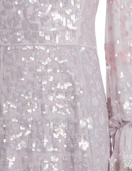 Patchwork Sequin Dress