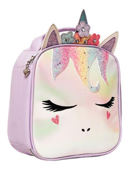 Miss Gwen Glitter Lunch Bag