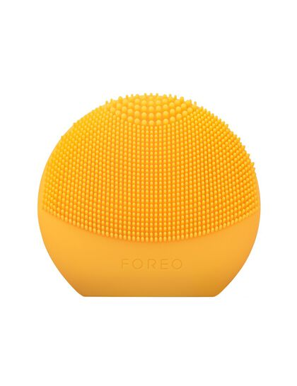 Sunflower Yellow LUNA fofo Smart Facial Cleansing Brush