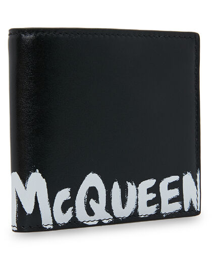 Graffiti Logo-Print Wallet