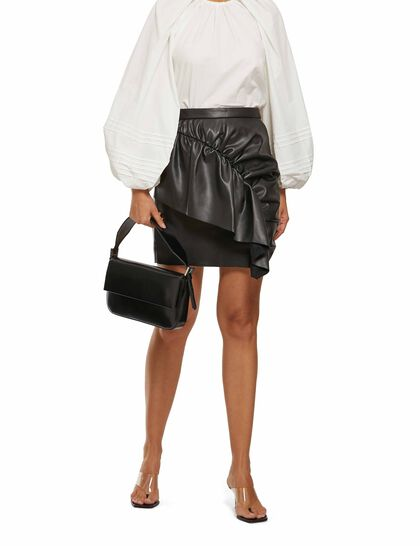 Modernistic Mini Skirt