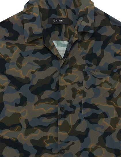 Sahra Resort Shirt Camo Print