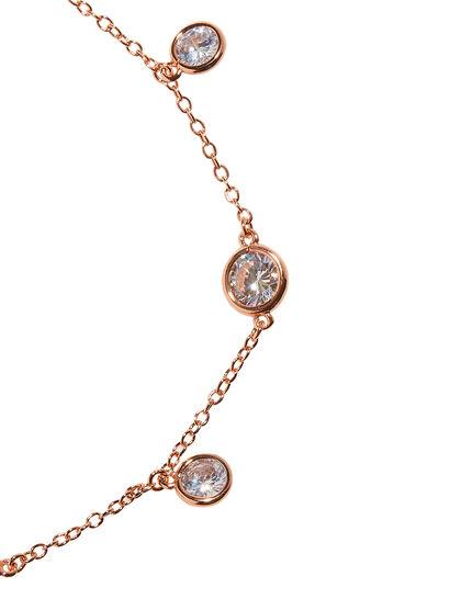Rose Gold Stone Anklet