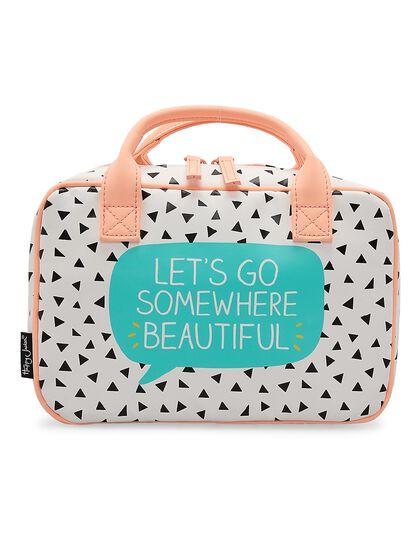 Beauty Organiser Lets Go Somewhere Beautiful