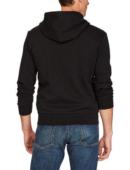 Lsfzhoodm1 Long Sleeve Knit Double Knit Tech - Polo Black