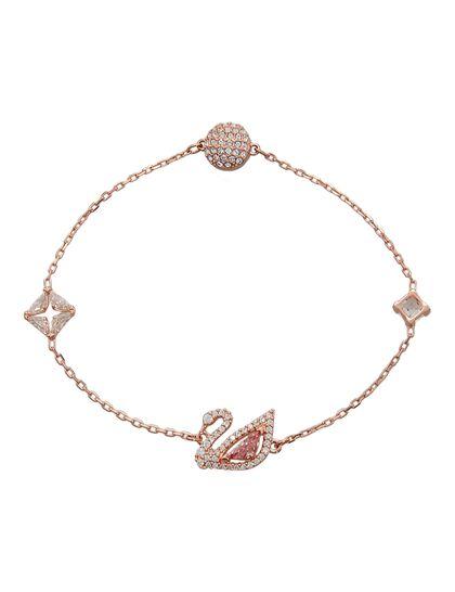 Sjc Dazzling Swan Bracelet Czmo Ros S